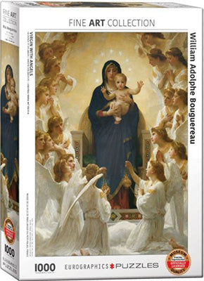Virgin with Angels 1000pc Puzzle