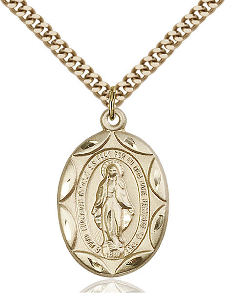 Gold Filled Miraculous Pendant