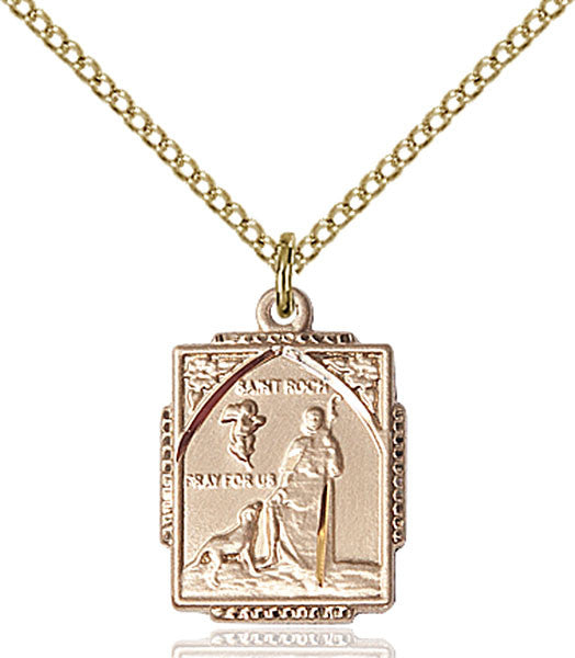 Gold Filled St. Roch Pendant