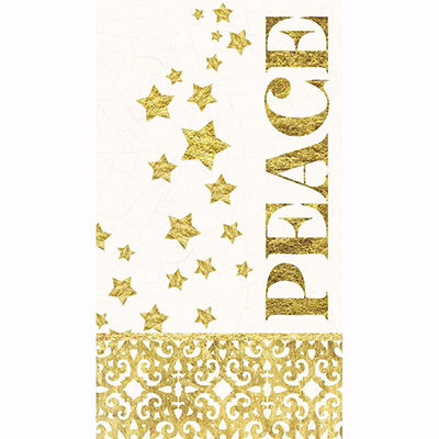 Paper Guest Towel - Starlit Winter - Pack Of 20