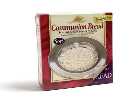 Communion-Bread Soft (Unleavened) (Pack Of 500)