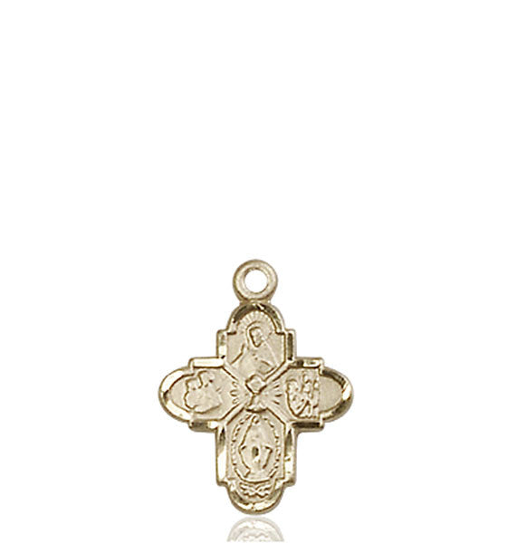 14kt Gold 4-Way / Chalice Medal