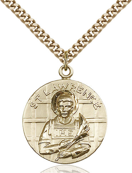Gold Filled St. Lawrence Pendant