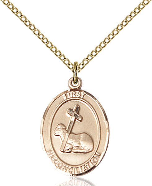 Gold Filled First Reconciliation Pendant