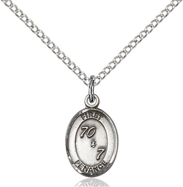 Sterling Silver First Penance Pendant