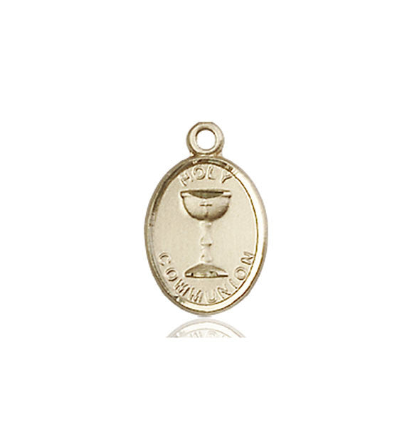 14kt Gold Holy Communion Medal