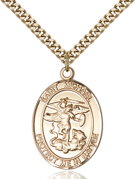 Gold Filled St. Michael Pendant