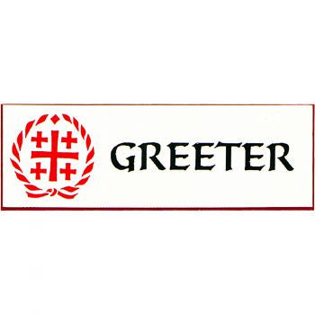 Greeter Pin/Badge