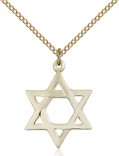 Gold Filled Star of David Pendant