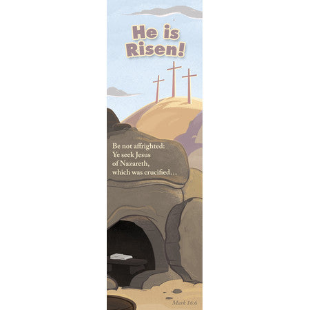 He is Risen (Bookmark)