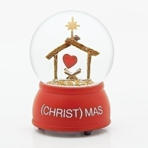 (Christ)mas Glitter Water Globe 100mm