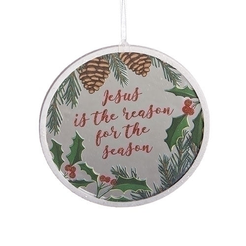 Jesus is the Reason Mirror Ornament