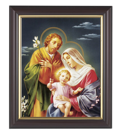 Holy Family 8 x 10 Dark Walnut