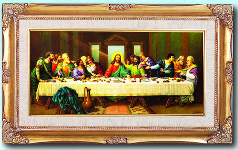 Last Supper By Zabateri 14X24