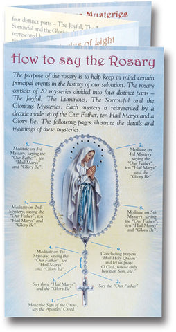 photograph regarding How to Pray the Rosary Printable Booklet referred to as How-toward-say Rosary booklets