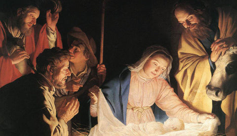Nativity/Advent/Christmas Prayer Card