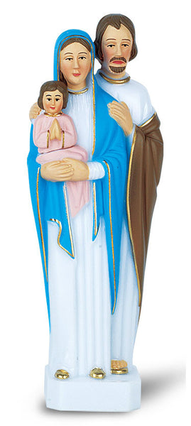 "6"" Holy Family Plastic Statue"