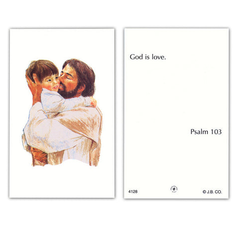 God is Love [prayer card]