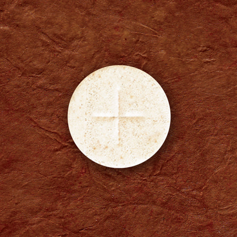 "Altar Bread  1000  1 1/8"" White"