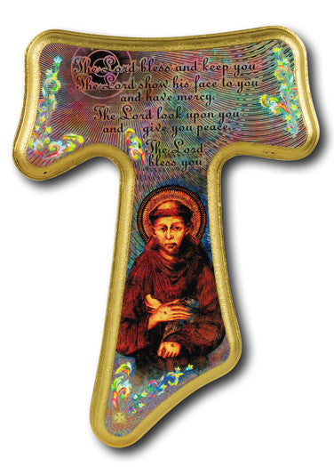 "12"" Tau St Francis Cross"
