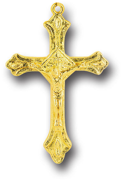 "2"" Gold Plated Crucifix"
