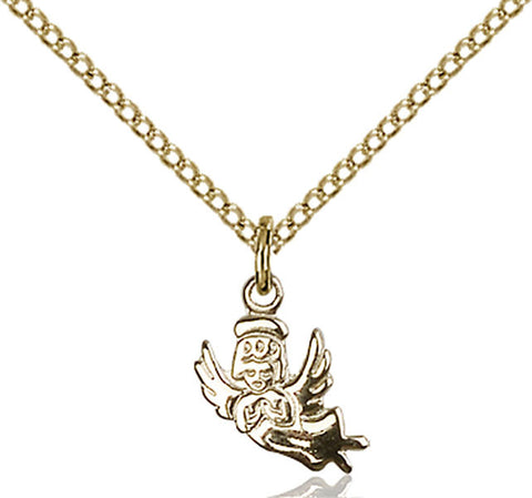 Gold Filled Angel Pendant