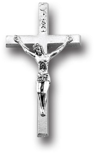 "1 1/2"" Oxidized Crucifix Religious Articles Hirten - St. Cloud Book Shop"