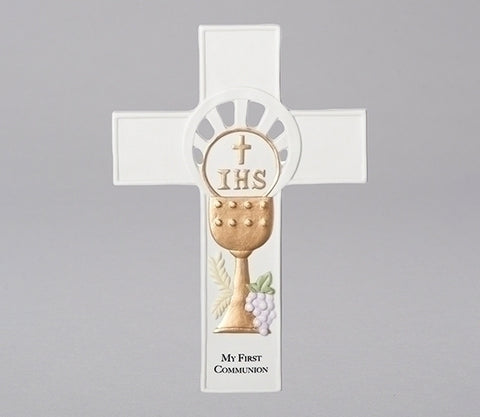 First Communion Chalice Cross