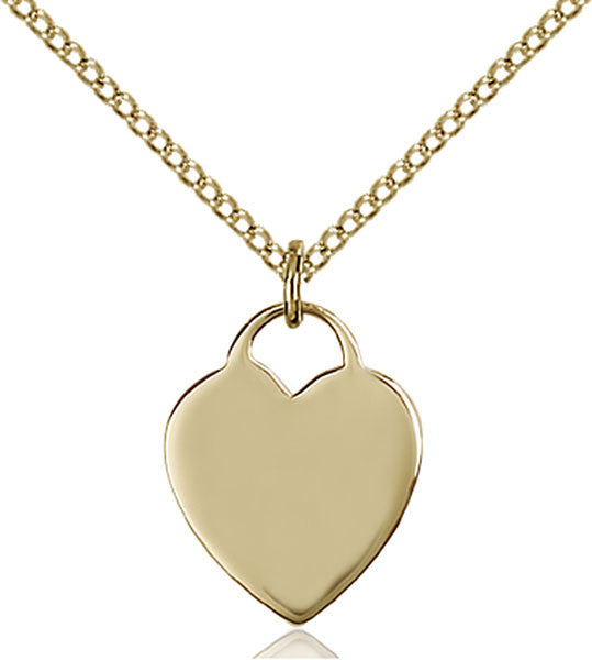 Gold Filled Heart Pendant