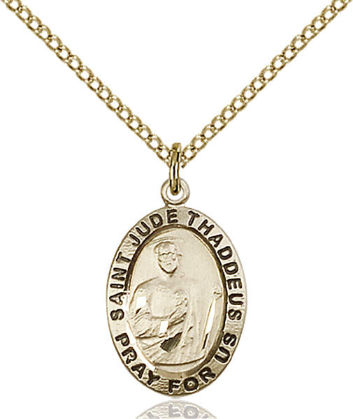Gold Filled St. Jude Pendant