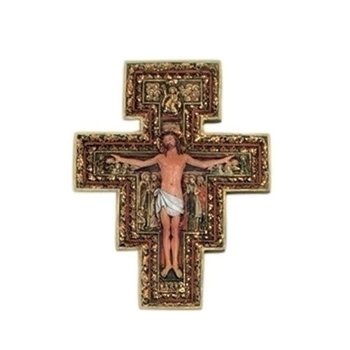"6"" San Damiano Cross"