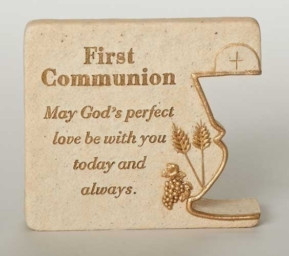 First Communion Plaque