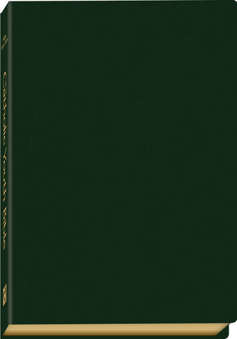 Catholic Youth Bible (NRSV)-Green Leatherette (3rd Edit)