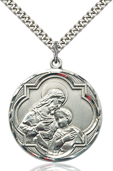 Sterling Silver Blessed Sacrament Pendant