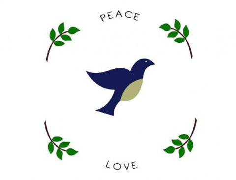 Peace Love Placemats (set of 4)