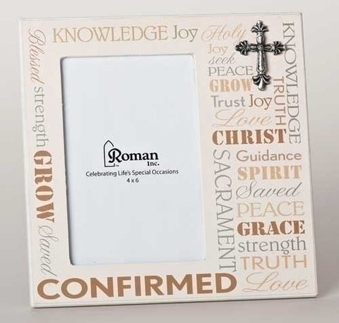 "7.75""H Confirmation Frame 4X6 Photo"