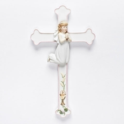 First Communion Cross - Girl