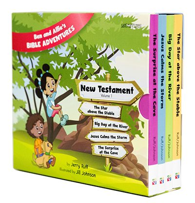 Ben and Allie's Bible Adventures New Testament Set
