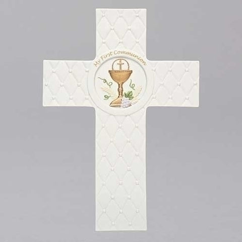 First Communion Quilted Cross