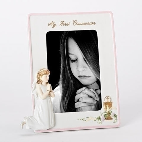 First Communion Picture Frame - Girl