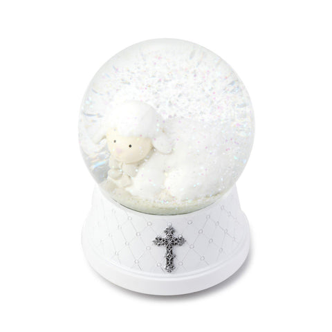 Jesus Loves Me Musical Water Globe