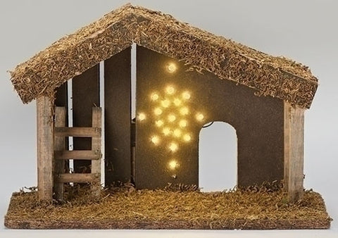 LED Lighted Stable 9""