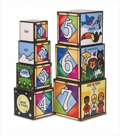 Days of Creation Stacking and Nesting Blocks: Classic Toys - Blocks