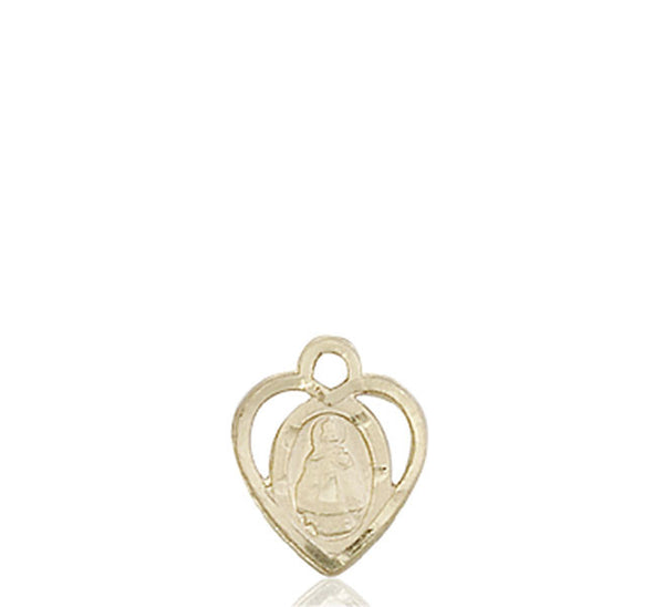 14kt Gold Infant Medal