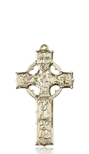14kt Gold Celtic Cross Medal
