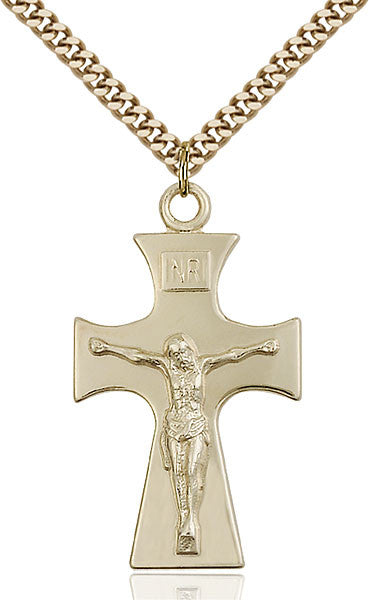 Gold Filled Celtic Crucifix Pendant