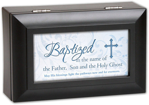 Baptism Music Keepsake Box - Boy