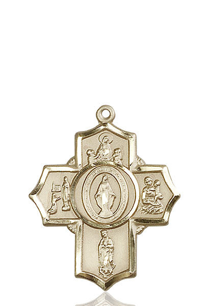 14kt Gold Apparitions Medal