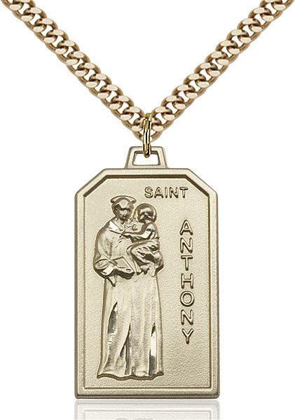 Gold Filled St. Anthony Pendant