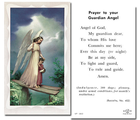 Guardian Angel Girl With Prayer